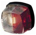 Hella markeerlicht vierkant rood/wit