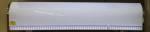 Lichtbak INOX LED wit spoilermodel27x125x10cm