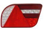 Achterlicht LED 'GloTrac' H14cm 12V/24V 5-functies RECHTS