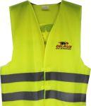 Fluo vest Truckshop Delrue in kleur