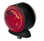 Hella markeerlicht rond 72mm rood/wit