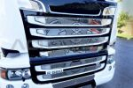 "Applicatie inox ""Piston"", kalenderkleine bumper SCANIA"