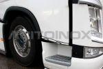 Deur bar onder inox  Volvo FH4  metleds