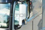Achteruitkijkspiegel cover inox Mercedes Actros MP4