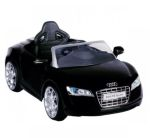 Accu-auto Audi R8 zwart (met afstandsbediening)