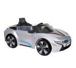 Accu-auto BMW I8 zilver (met afstandsbediening)
