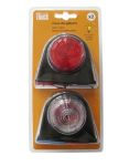 Marker light Britax red/white (2pieces) 24V/5W