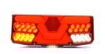"""Achterlicht LED """"V-light"""" H13cm 12V/24V (7-functies) LINKS"""