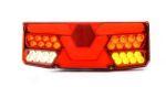 """Achterlicht LED """"V-light"""" H13cm 12V/24V (7-functies) RECHTS"""