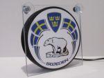 """Raamverlichting LED """"Ijsbeer Zweden"""" 17,5x17,5cm 24V"""