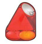 Achterlicht 12V RECHTS pos/stop/richting/achter 21,8x17,4cm