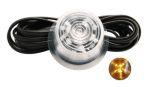 """Inzet LED oranje (transp. glas) 10-30V Zweedse breed """"Gylle"""""""
