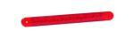 Achterlicht + remlicht rood LED 12V/24V (26cm x 2,5cm)