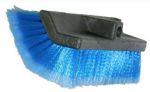 Wasborstel blauw hoek 32cm + steelpolyester zwart 3m PRO