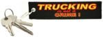 Sleutelhanger Delroad 13x3cm Trucking is not a crime