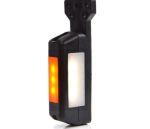 Breedtepaal flap NEON LED wit/rood/oranje 12V/24V