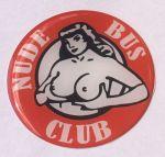 "Logo 3D ""Nude Bus Club"" 7cm"