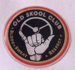"Logo 3D ""Old skool club"" 7cm"