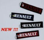 Sleutelhanger Delrueline 13x3cm alcantara Renault