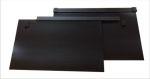 Spatlapset ZWART soepel BLANCO 2st.60x39.5cm + bevest.