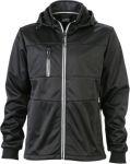 Vest softshell jacket zwart wind-waterproof S -> 3XL