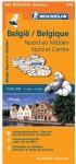 Michelinkaart nr 533 (Noord- & Midden België)