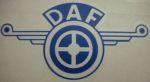 Kleverset DAF veer 20 cm blauw - 2stuks