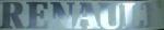Klever truckmerk RENAULT 10 cm chroom