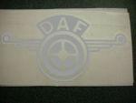 Kleverset DAF veer 20 cm metallic -2 stuks.