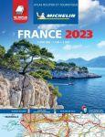 Michelin toeristische wegenatlas Frankrijk 2018 (A4 soepel)