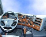 Dashboardset Scania R Airco automatisch hout 45-delig