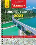 Michelin wegenatlas Europa 2018 (A4spiraal)