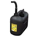 Jerrycan 10L zwart PVC universeel